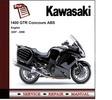 Thumbnail Kawasaki 1400GTR Concours 2007-2008 Service Repair Manual