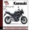 Thumbnail Kawasaki KLE650 Versys 2010 - 2011 Service Repair Manual