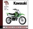 Thumbnail Kawasaki KLX110 2002 - 2009 Service Repair Manual