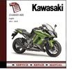 Thumbnail Kawasaki Z1000SX ABS Workshop 2011 - 2013 Service Manual